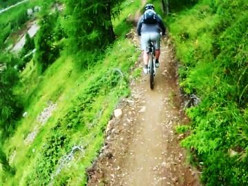 Voor wat meer uitdaging kan je de smallere paden opzoeken