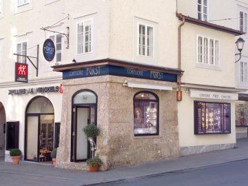 Het befaamde snoepwinkeltje Confiserie Fürst