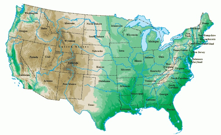 Bron: united-states-map.com