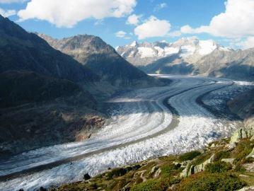 gletsjer-ijs-rivier