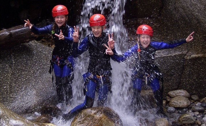 familien-canyoning-mayrhofen