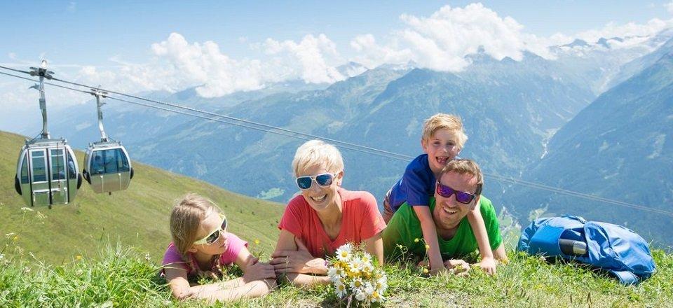 Genieten van een gezinsvakantie in de Alpen