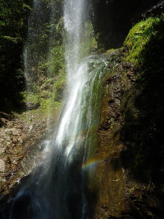 Finsterbach watervallen