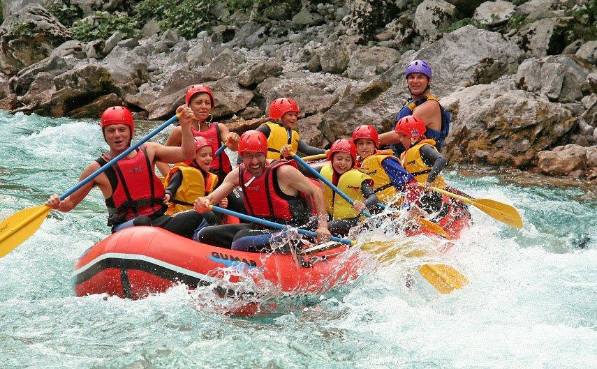 Wildwater avonturen in Slovenië