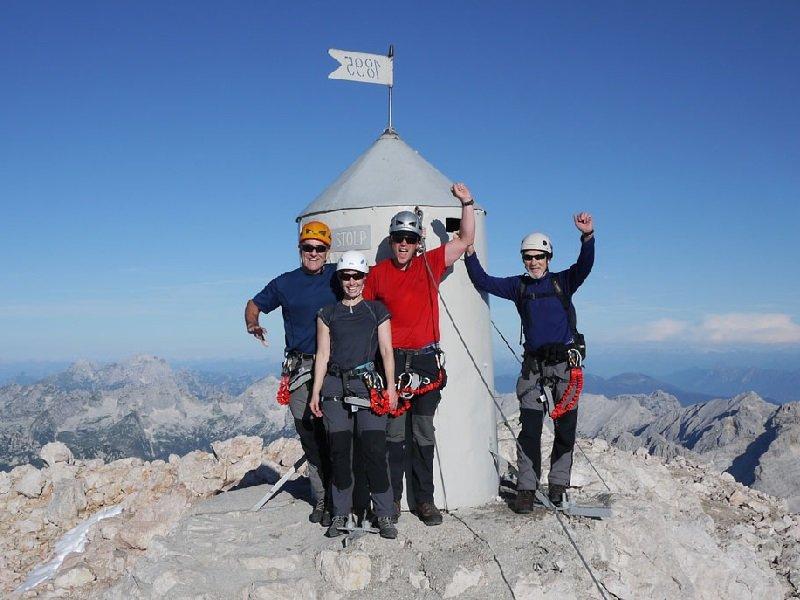Beklimming van de Mt. Triglav