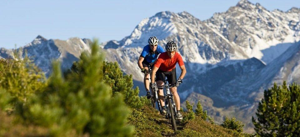 Mountainbiken in Sölden