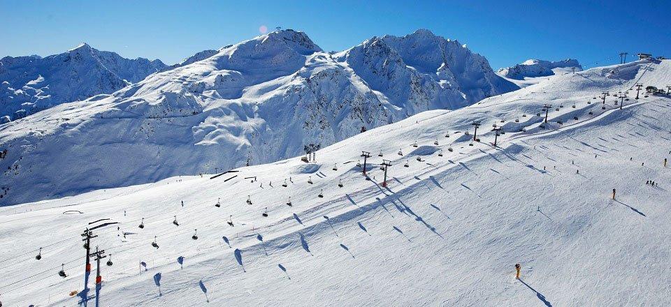 Wintersport in het Ötztal