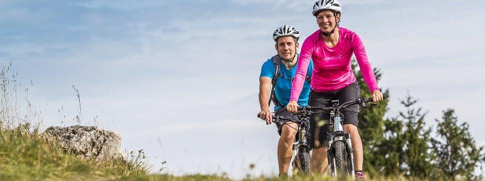 Mountainbiken bij de Ossiacher See