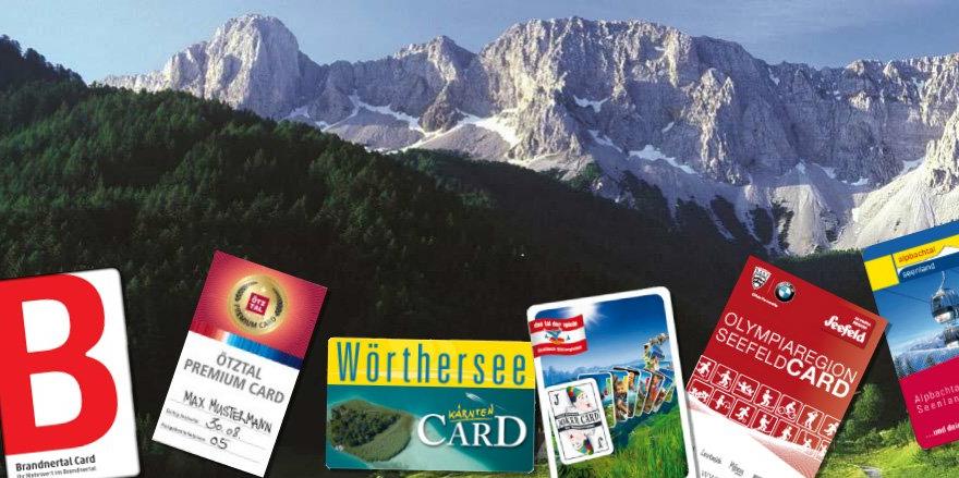 Voordeelkaarten in de Alpen