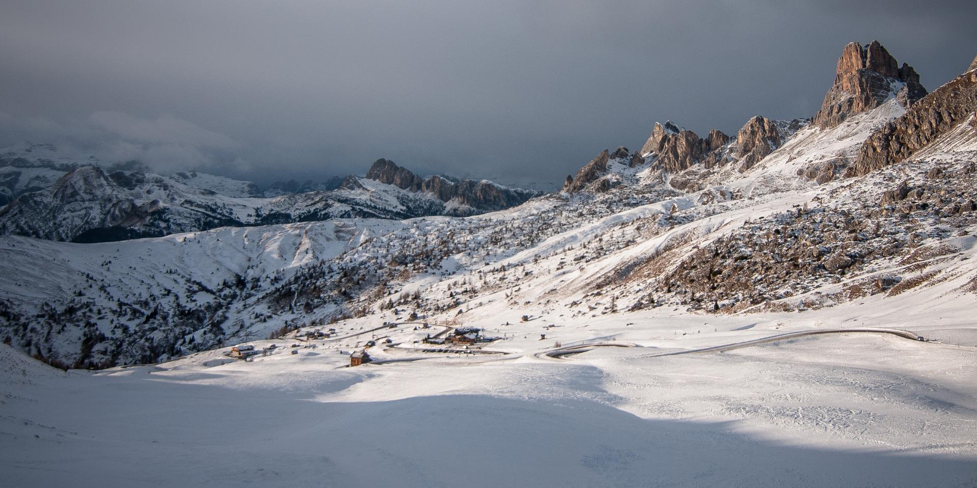 Poedersneeuw in Val di Sole