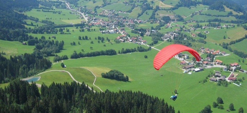 Paragliding in Niederau