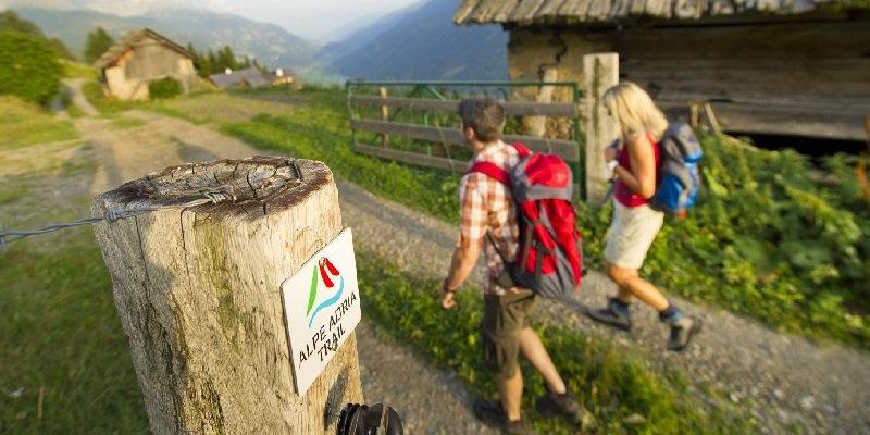 Bewegwijzering Alpe Adria Trail