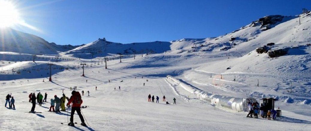 Skiën in de herfst