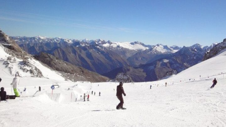 Skiën in de zomer