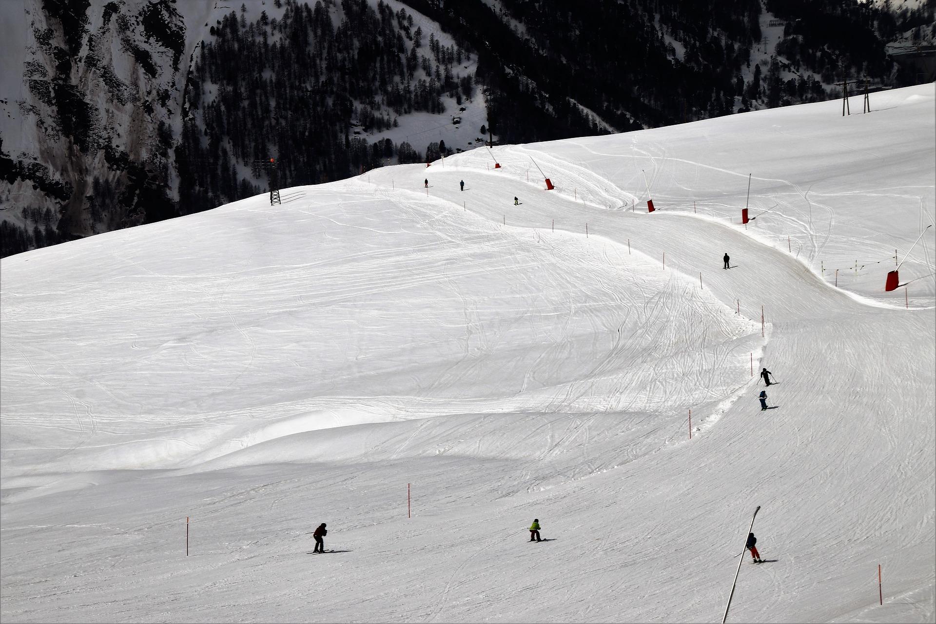 Skiën bij Zermatt