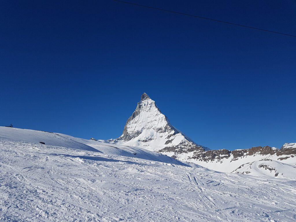 De wereldberoemde Matterhorn