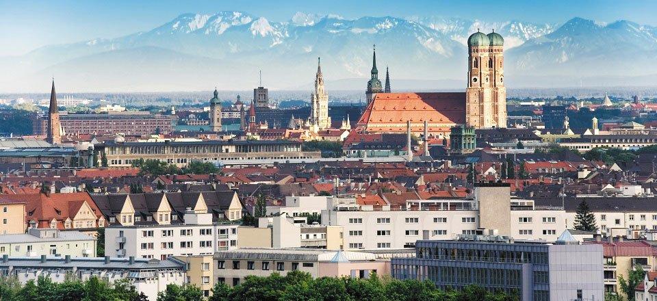 Zicht over München