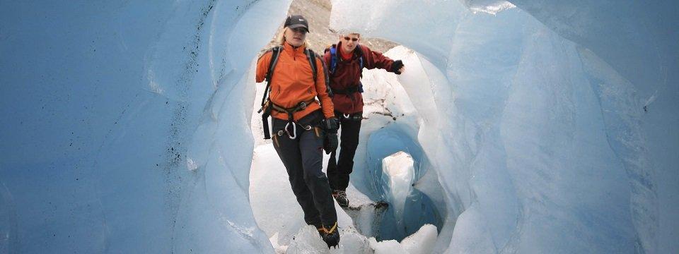 Kom alles te weten over gletsjers tijdens een gletsjertrekking