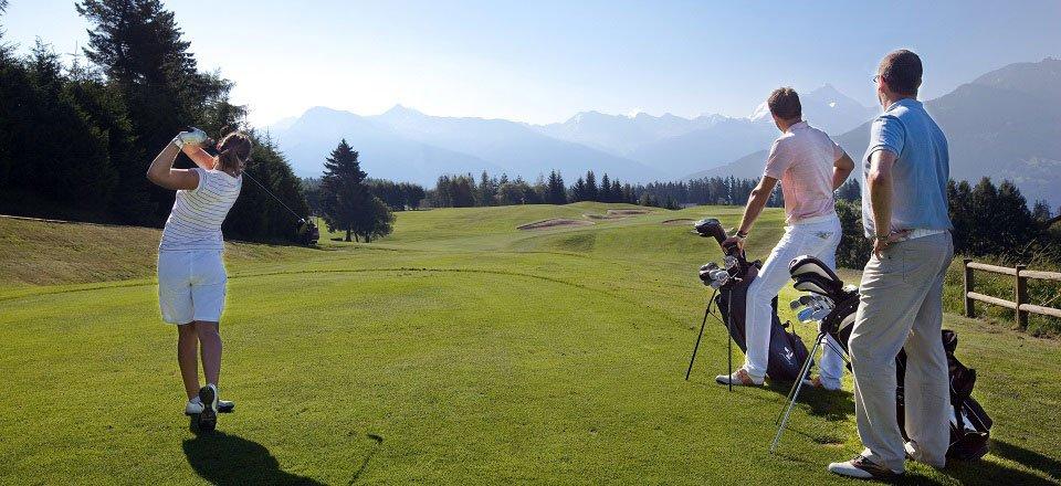 Golfvakantie in de Alpen