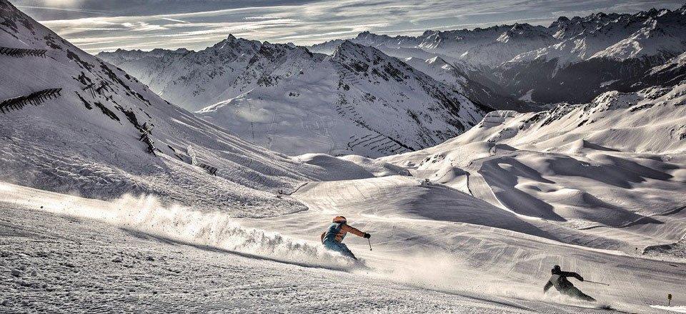 Wintersport bij Sankt Gallenkirch