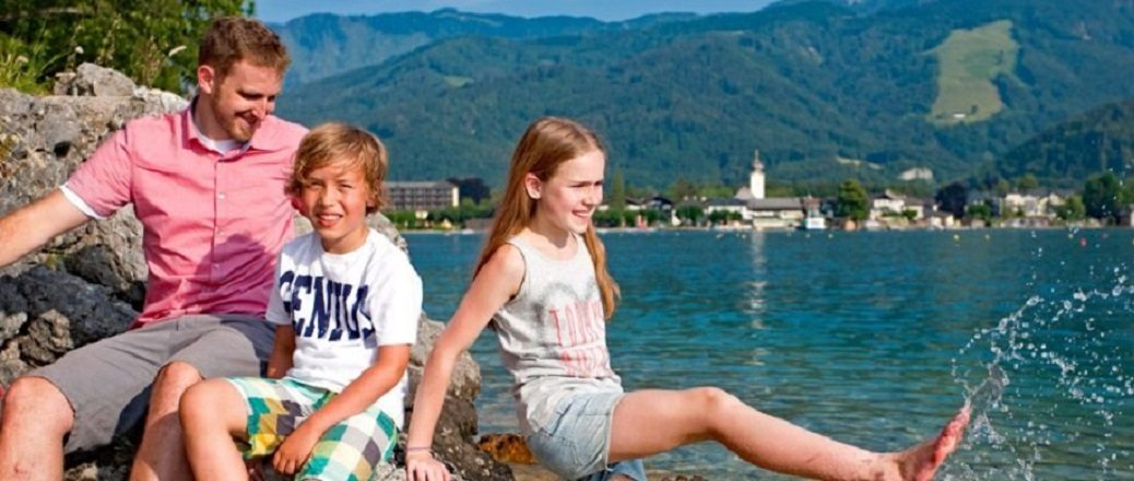Met kinderen naar de Alpen