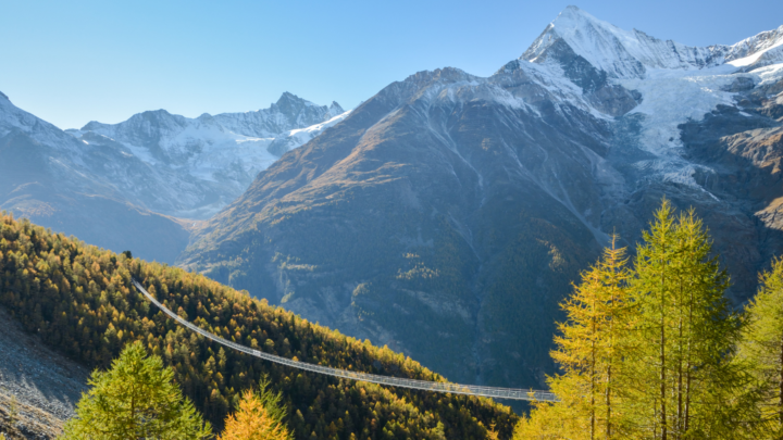 Charles Kuonen hangbrug Zermatt