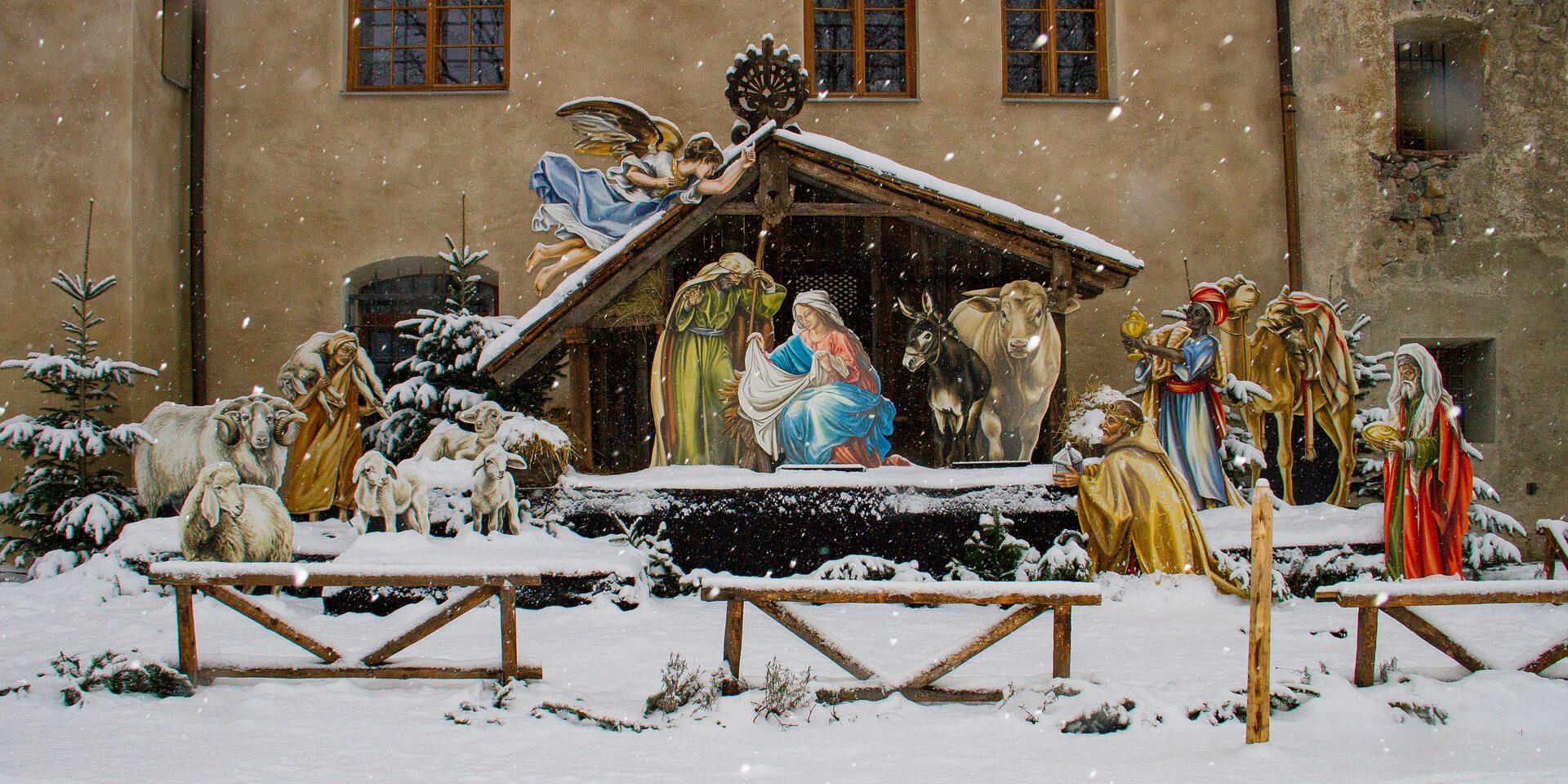 Feestdagen in de Alpen