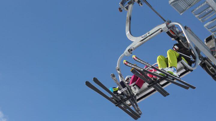 Skilift alpen