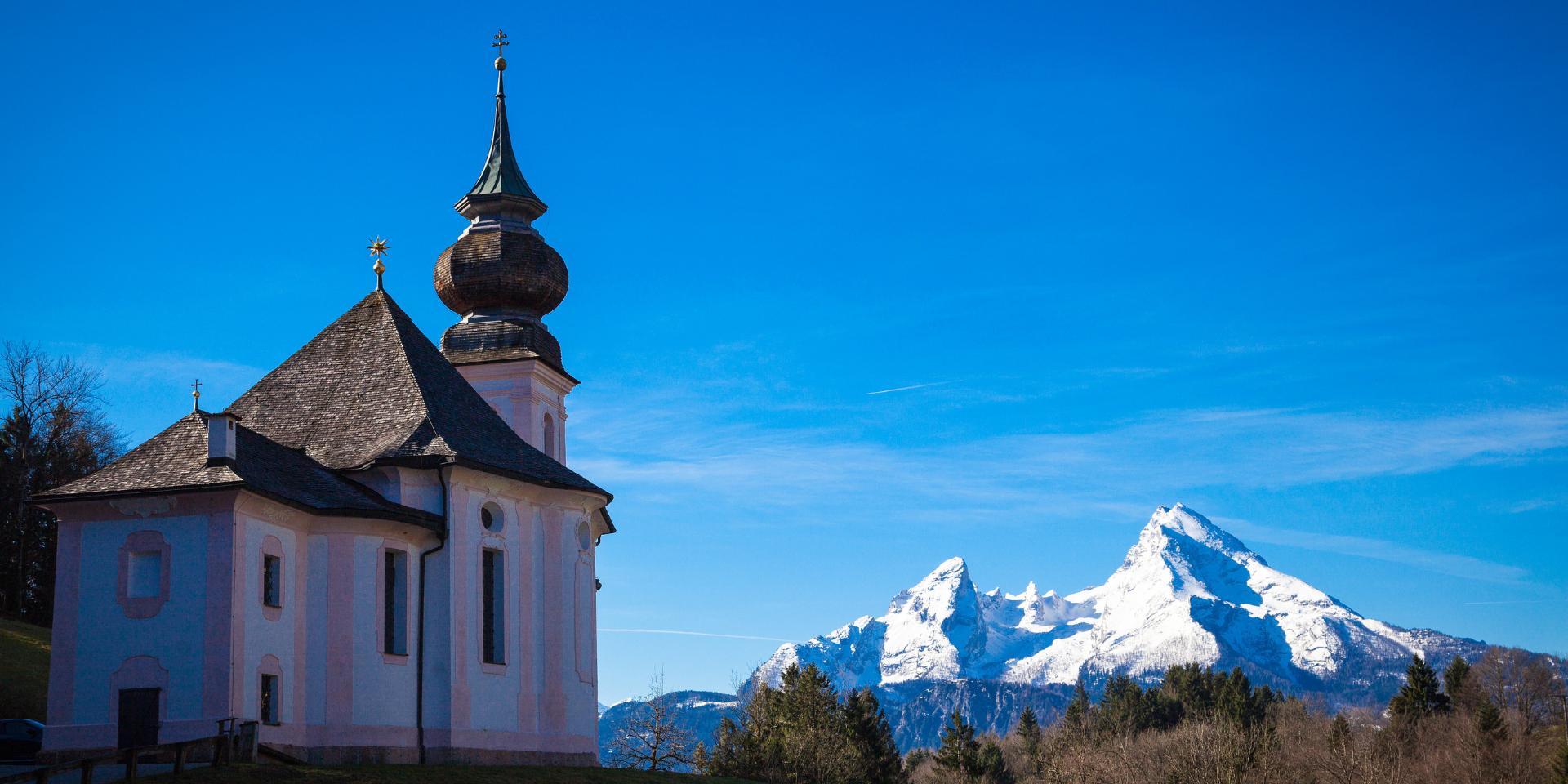 Berchtesgaden in de winter