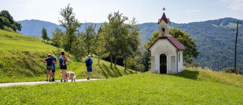 Juliana Trail met hond