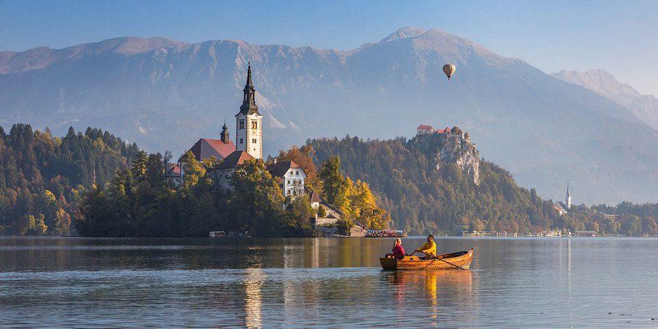 Het meer van Bled etappes Juliana Trail