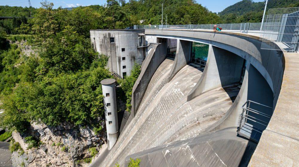 Juliana Trail Etappe 3 dam